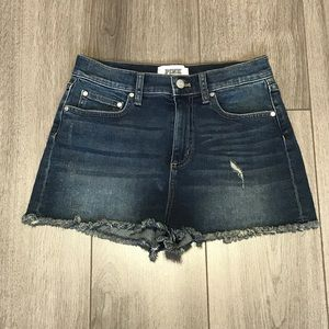 VS PINK EUC high rise jean shorts